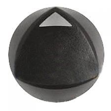 Dacor Range/Cooktop Burner Control Knob, Black