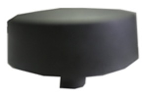 Dacor Range/Cooktop Top Burner Control Knob, Matte Black
